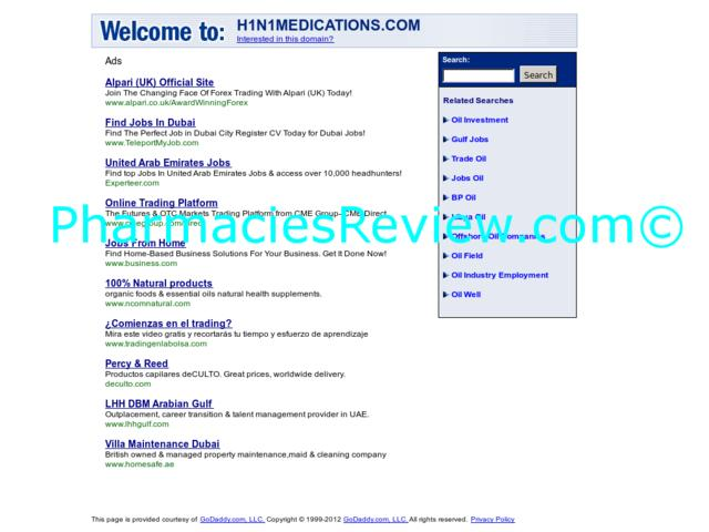 h1n1medications.com review