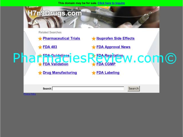h7n9drugs.com review