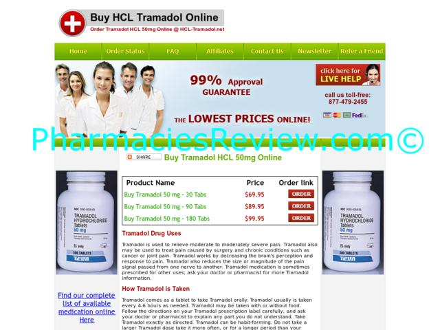 tramadol hcl for arthritis pain