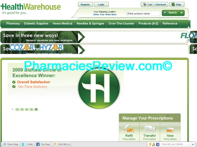 healthwarehouse.com review
