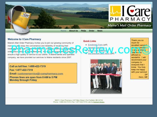 i-carepharmacy.net review