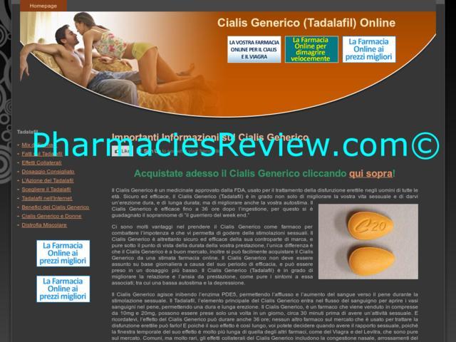 Cialis Online Description Chemistry Ingredients Tadalafil