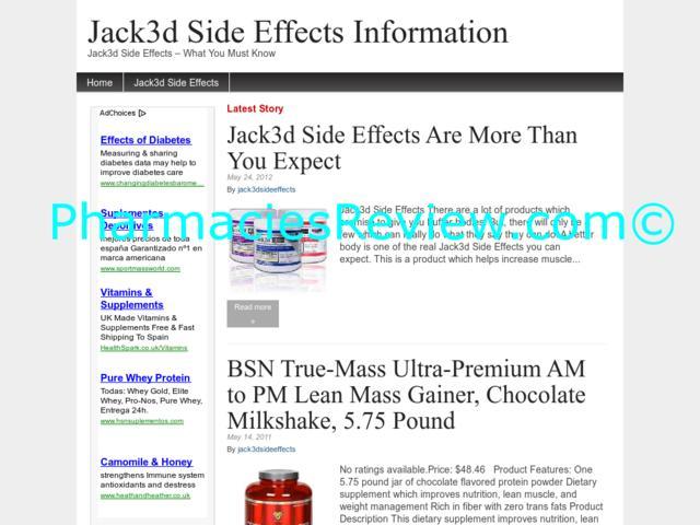 jack3dsideeffects.net review