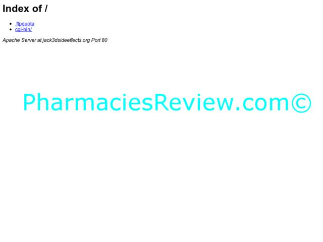 jack3dsideeffects.org review