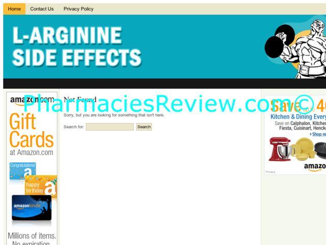 l-argininesideeffects.net review