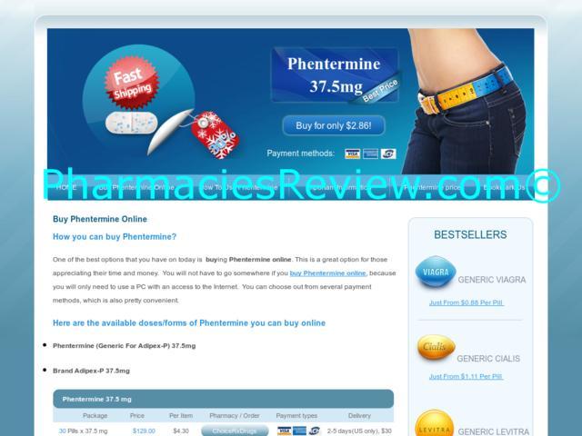Buy Online Com Phentermine Viagra