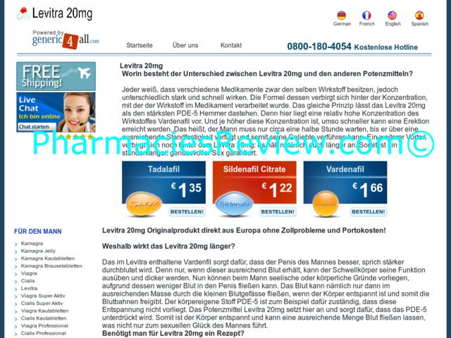 Best Prices On Levitra 20 Mg. Fast Worldwide Shipping! Secure Website.