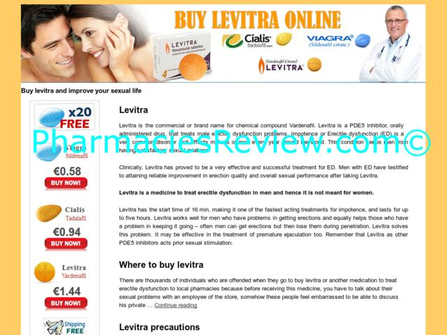 Buy Levitra Online With Fast Delivery