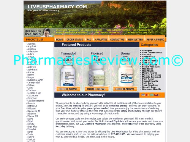 liveuspharmacy.com review