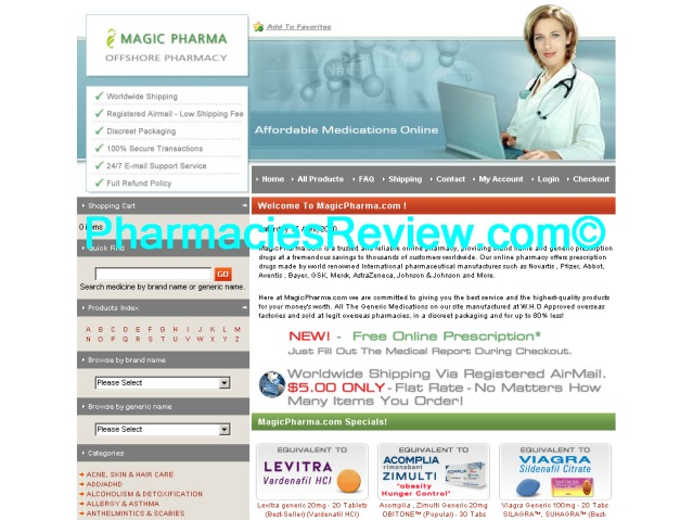 magicpharma.com review