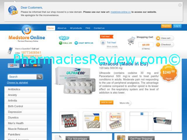 Online medstore