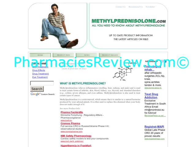 Methylprednisolone Vs Prednisone For Back Pain
