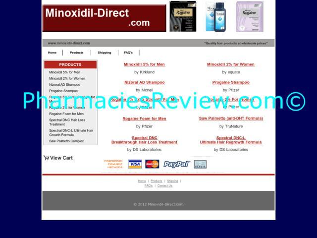 Cheap Minoxidil Online Pharmacy