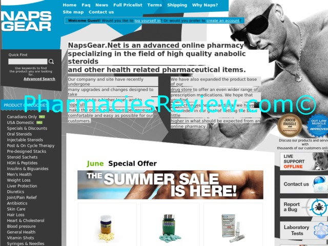 napsgear.net review