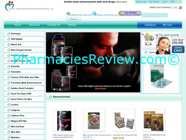 naturalmaleenhancementdrugs.net review