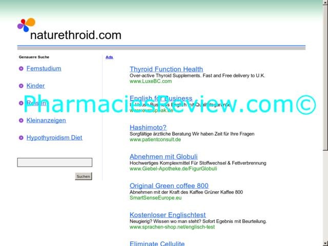 naturethroid.com review
