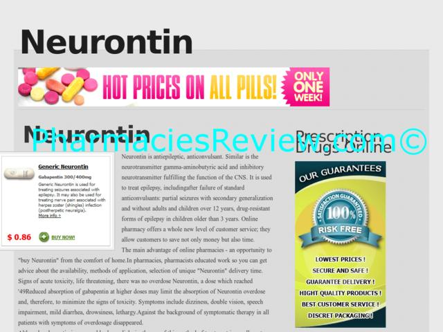 Neurontin Online