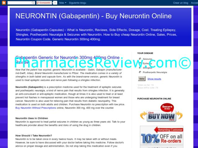 Neurontin Review