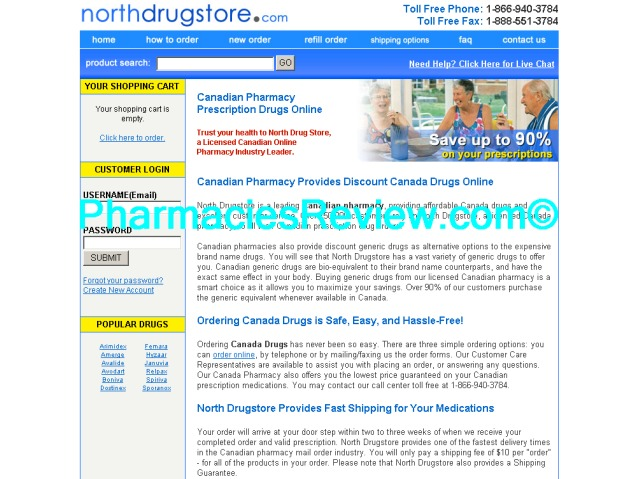northdrugstore.com review