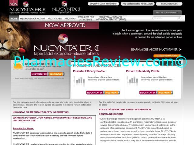 Nucynta abuse