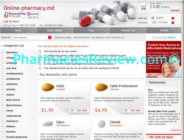 can a us pharmacy fill a canadian prescriptions online