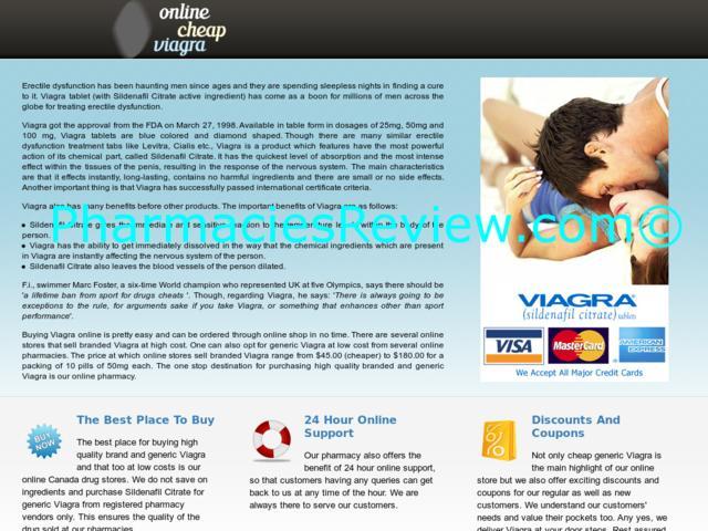 Cheapest Viagra On Net