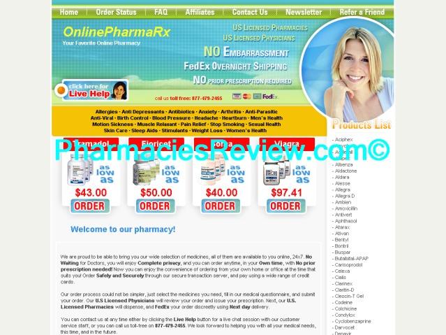 onlinepharmarx.com review