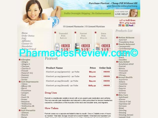 fioricet prescription pills