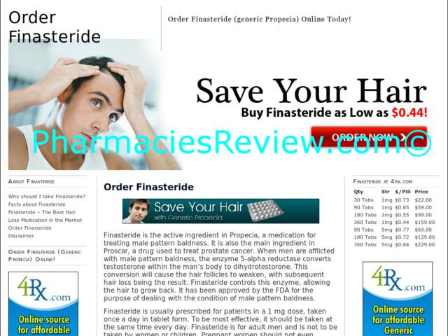 Drug Generic Pharmacy Propecia U S