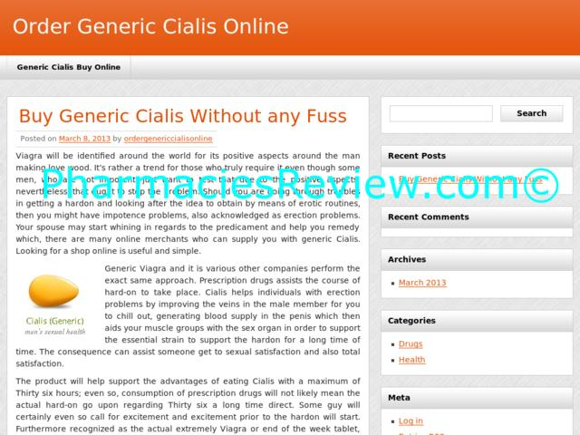 APPROVED Pharmacy Online. Mail Order Cialis