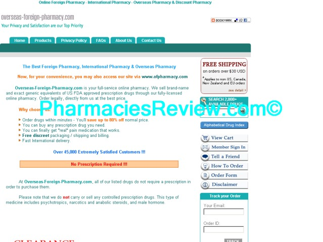 overseas-foreign-pharmacy.com review