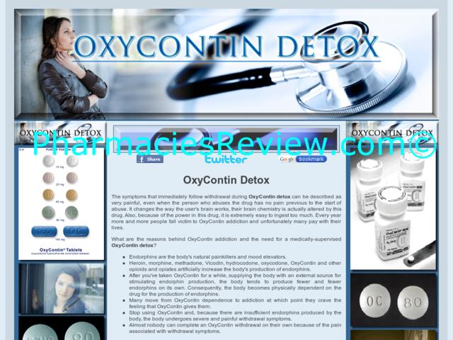 Discount coupons for oxycodone