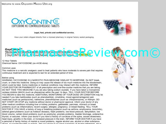 oxycontin-mexico-usa.org review