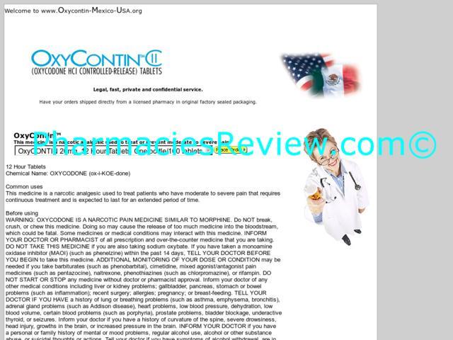 oxycontin-mexico-usa.org review