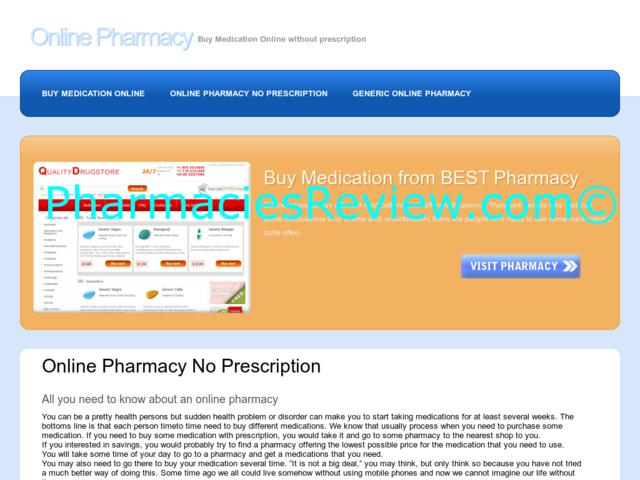 Online Noroxin Pharmacy Reviews
