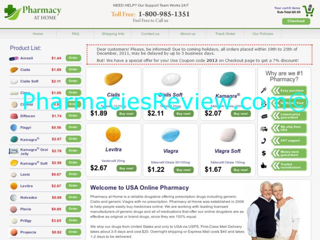 pharmacyathome.com review