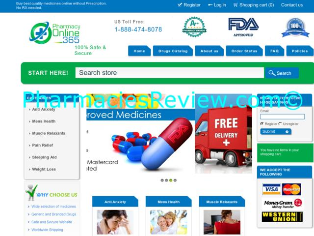 pharmacyonline365.com review