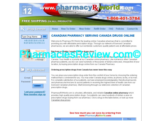 pharmacyrxworld.com review