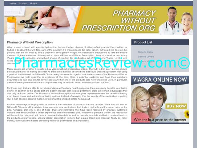 Online Pharmacy With Prescription Viagra