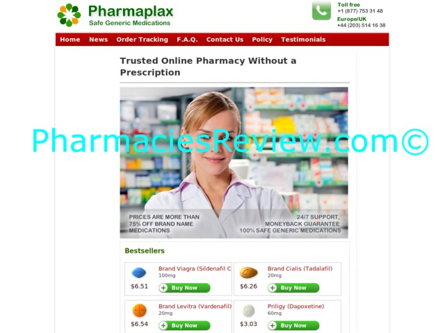 pharmaplax.com review