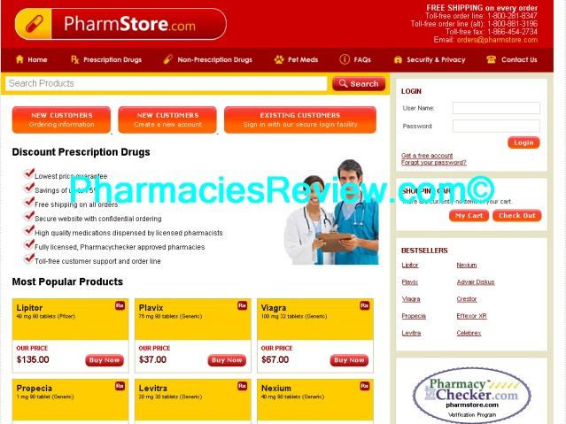 pharmstore.com review