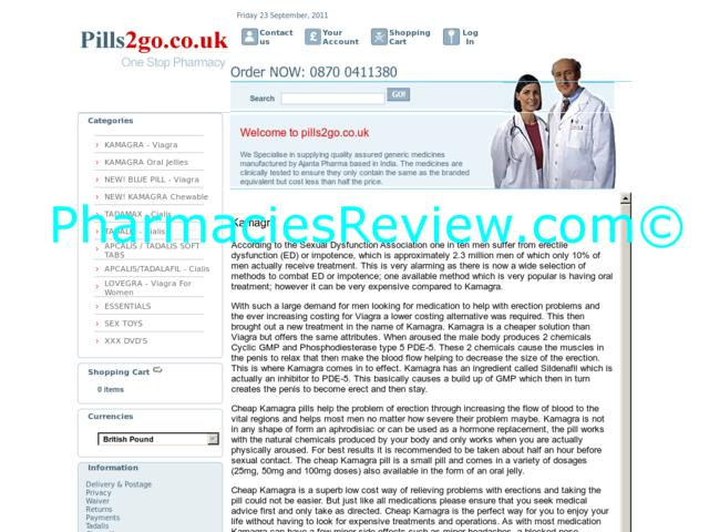 pills2go.co.uk review