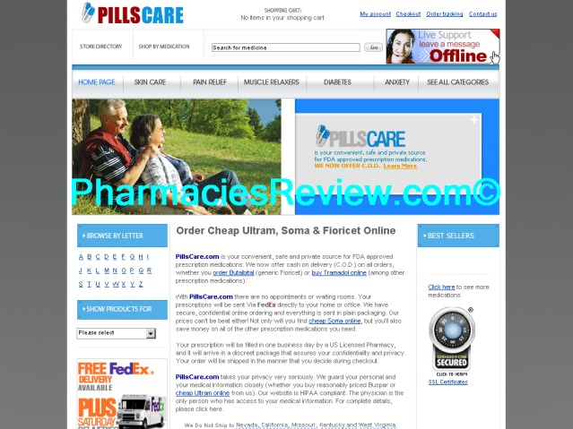 pillscare.com review