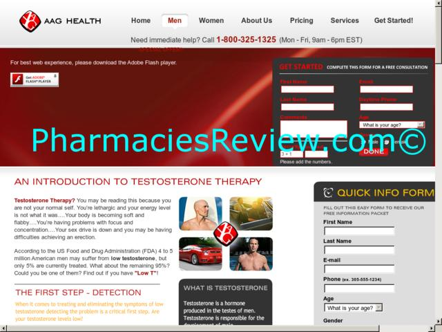 Testosterone prescription coupons