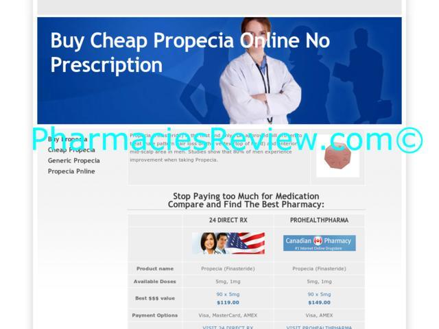 Propecia generic online