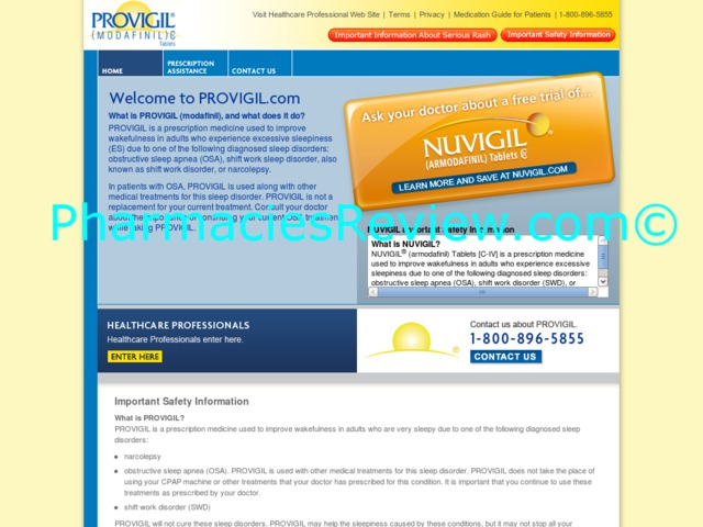 provigil.com review