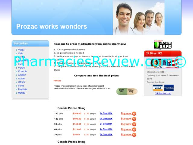 Order Prozac Online Pharmacies Cash On Delivery