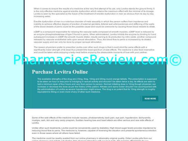 Purchase Levitra Online