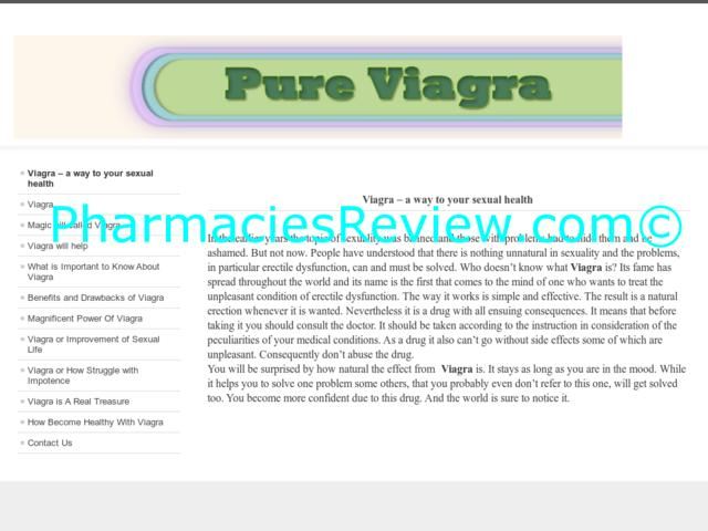 Viagra And Its Effects