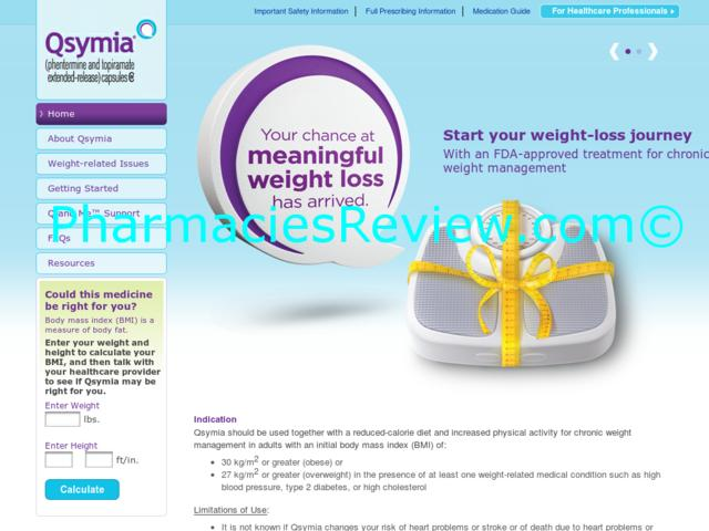 weight loss pill qsymia reviews